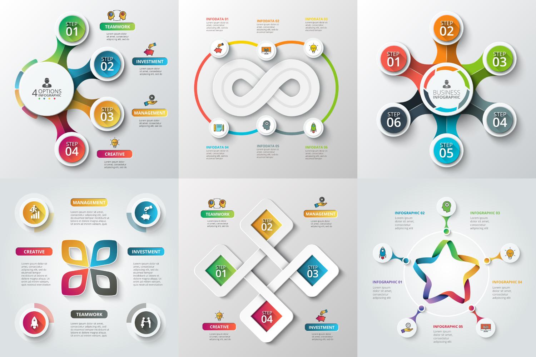 Infographic elements bundle v.01 example image 3