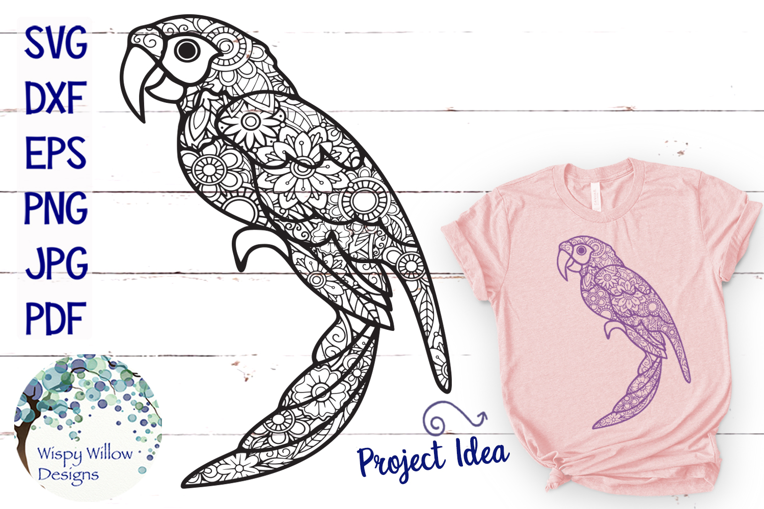 The Summer Zentangle SVG Bundle | Mermaid | Pineapple example image 3
