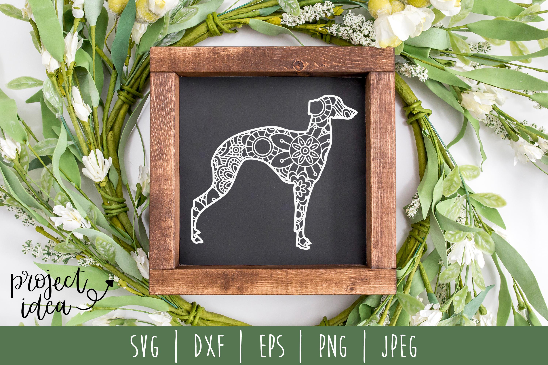 Dog Mandala Zentangle Bundle Set of 22 - SVG example image 23