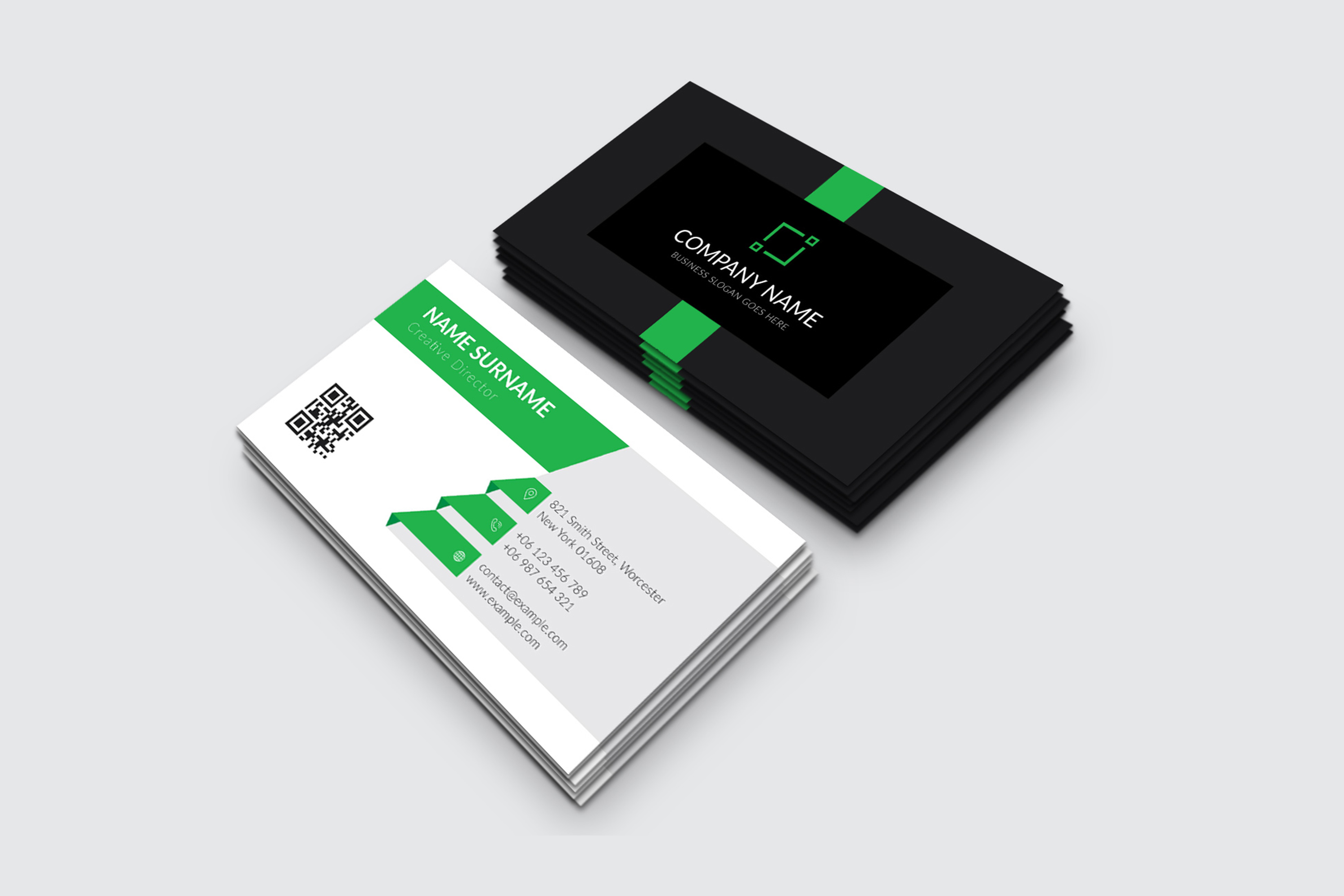 Modern and Elegant Business Card Design example image 5