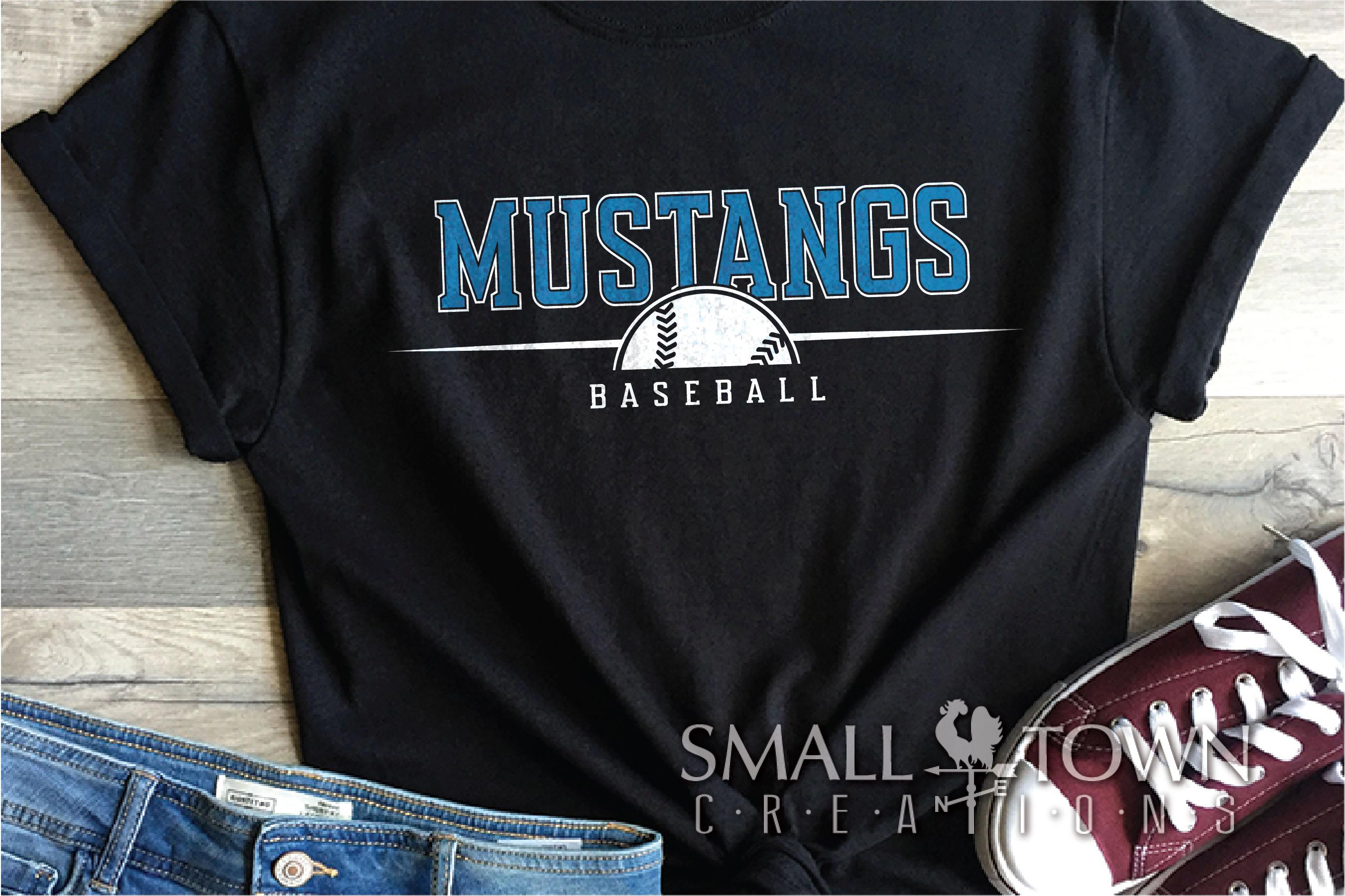 Mustang Sport Bundle, Logo, Team Mascot, PRINT, CUT & DESIGN example image 2