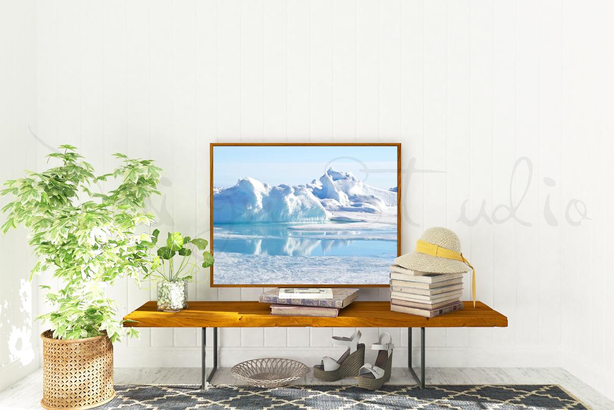 Styled Stock Photography, Frame Mockup set, vertical&Horizontal example image 4