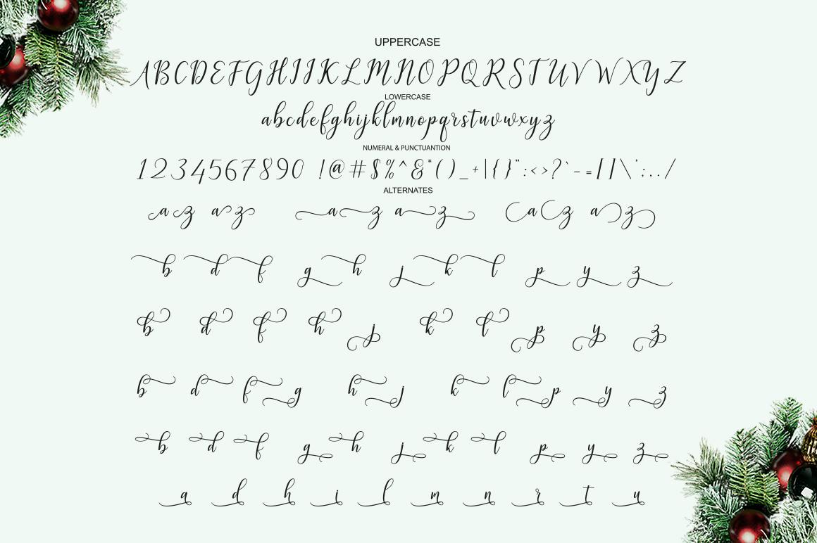 Galatia Script example image 6