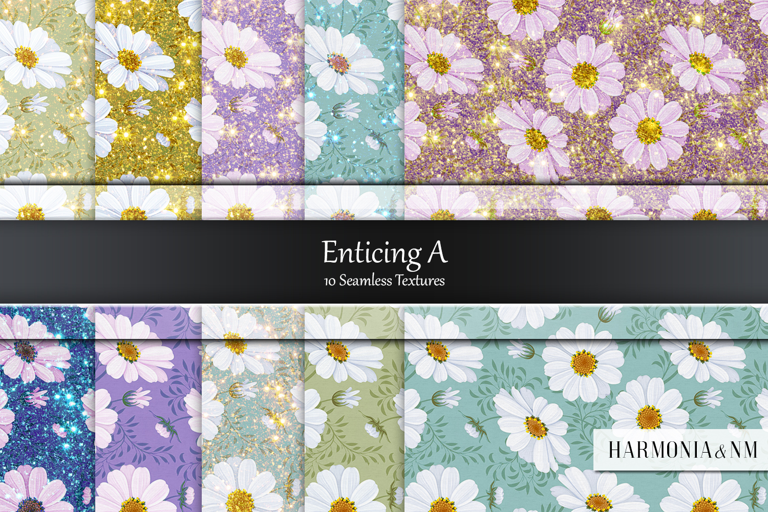 Enticing Set A10 Seamless Textures example image 1