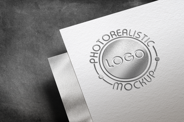 Logo Mock-Up Paper Edition example image 20