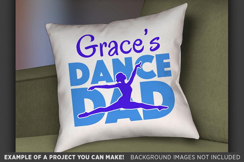 Dance Dad SVG File - Dance Dad Shirt SVG - 1048 example image 2