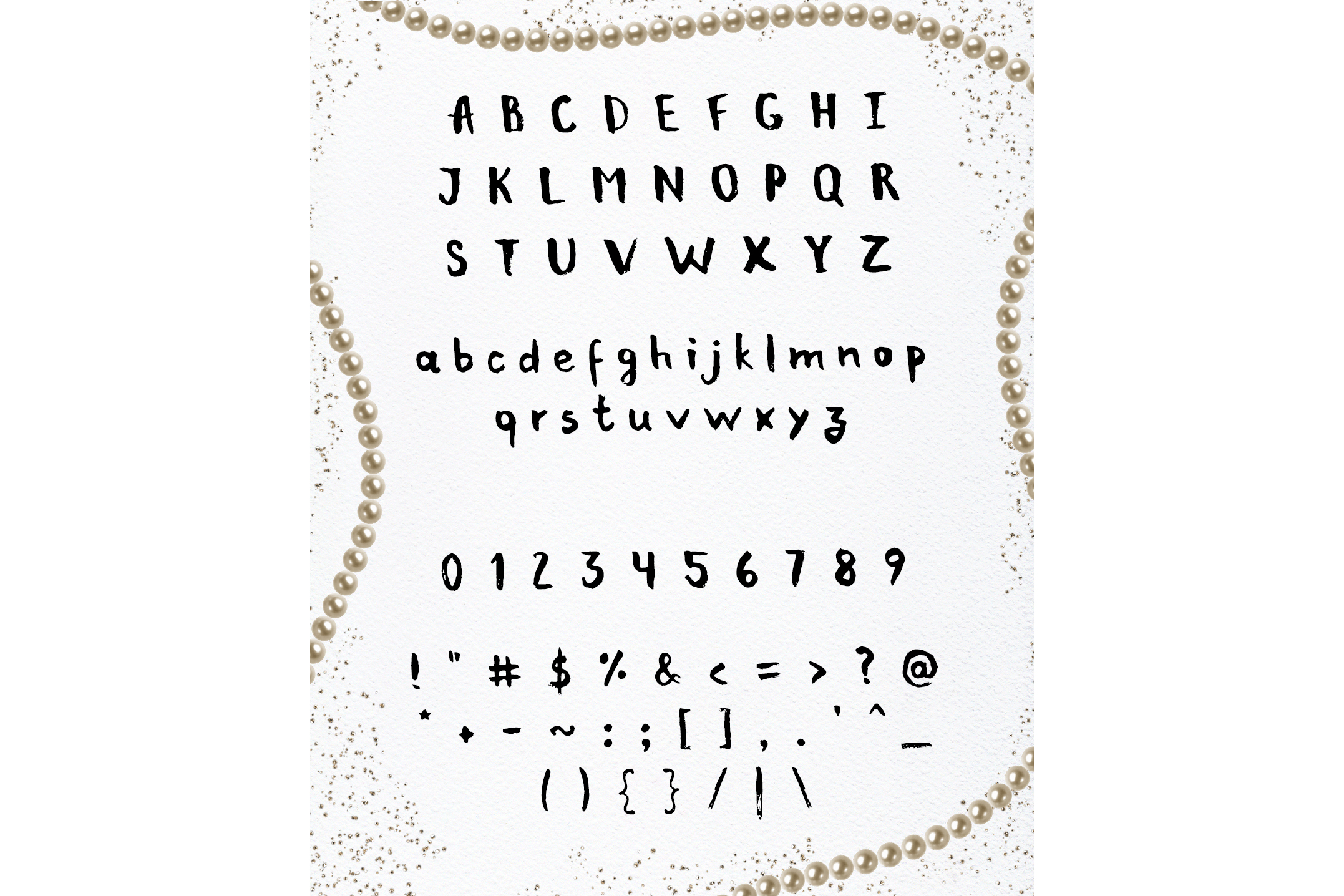 Bellious hand drawn typeface example image 2
