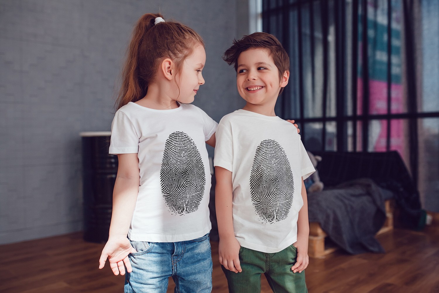 Kids T-Shirt Mock-Up Vol.3 2017 example image 5
