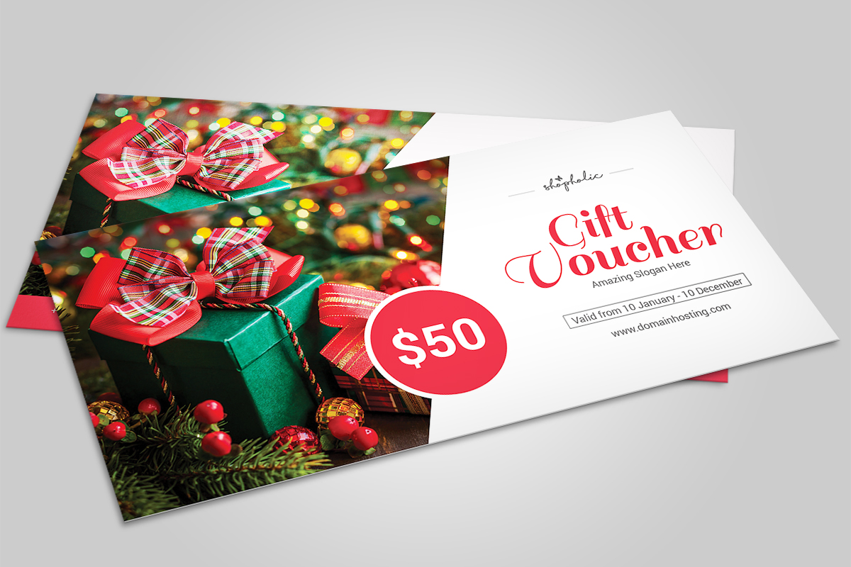 Christmas Gift Voucher example image 1