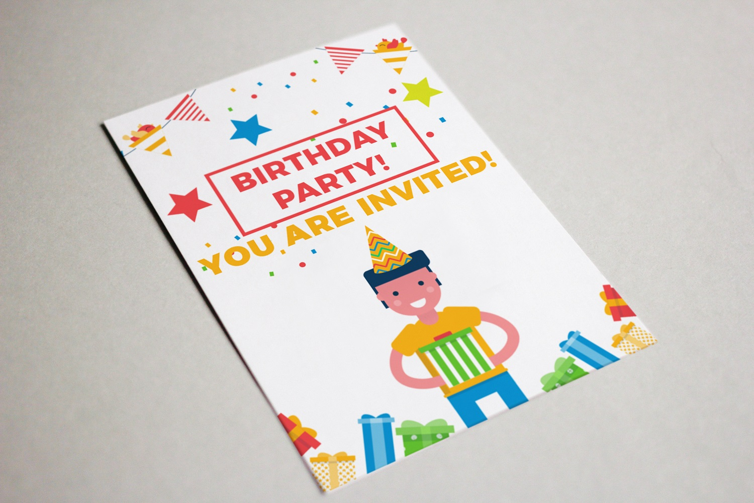 Its a birthday party vector illustration pack example image 6