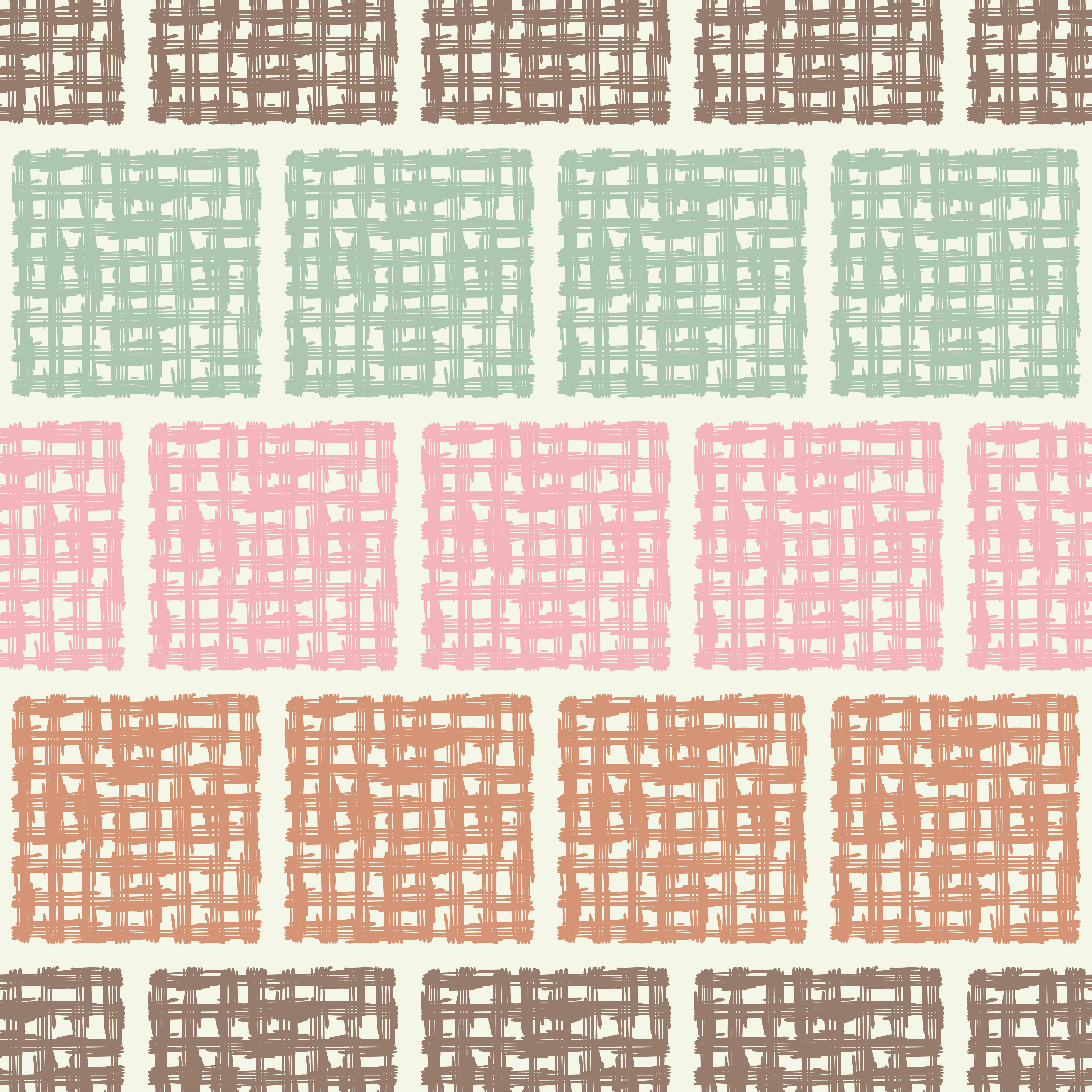 6 Ethnic boho seamless pattern. Scribble texture.  example image 4