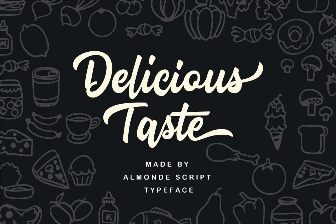 Almonde Script example image 5