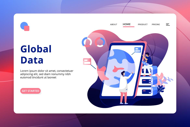 Data Analysis sets Illustration example image 8