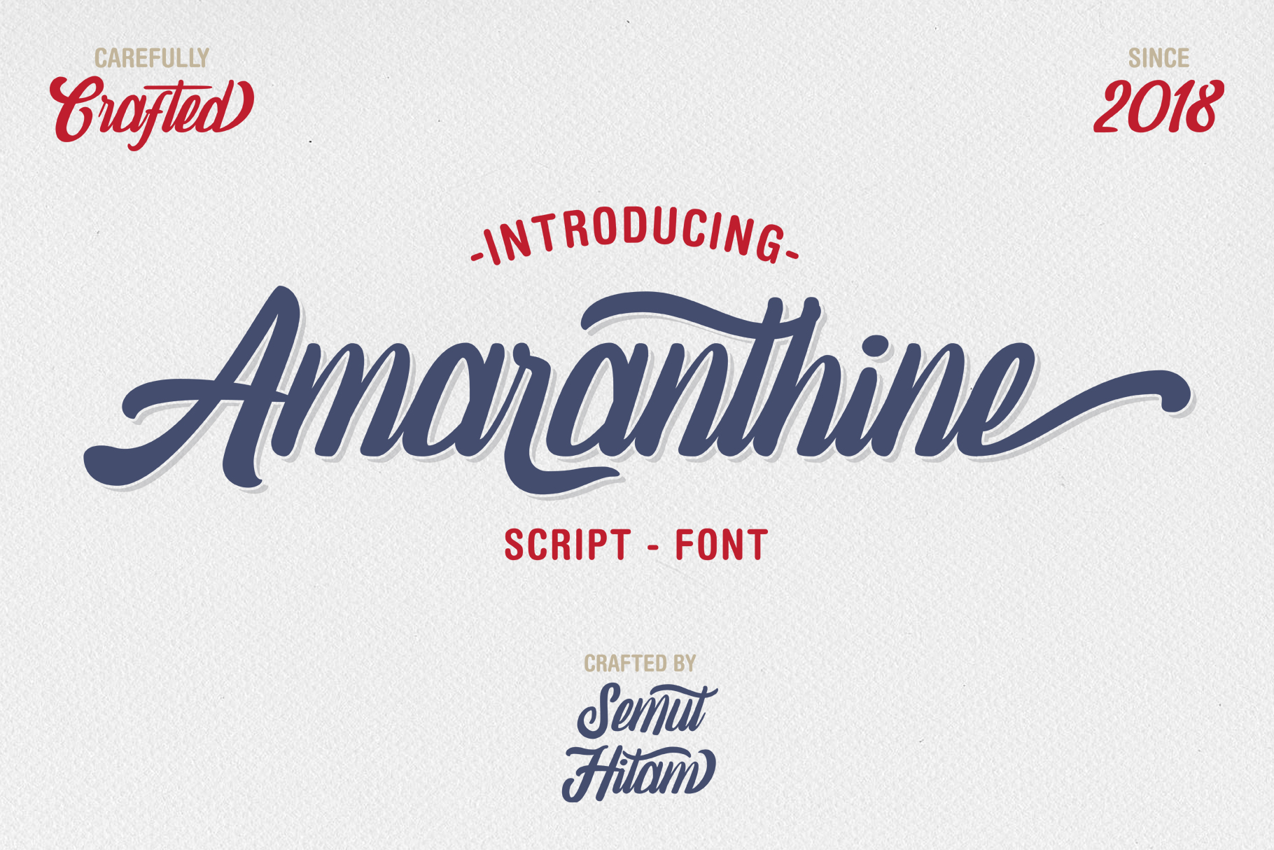 Amaranthine Script Font example image 1