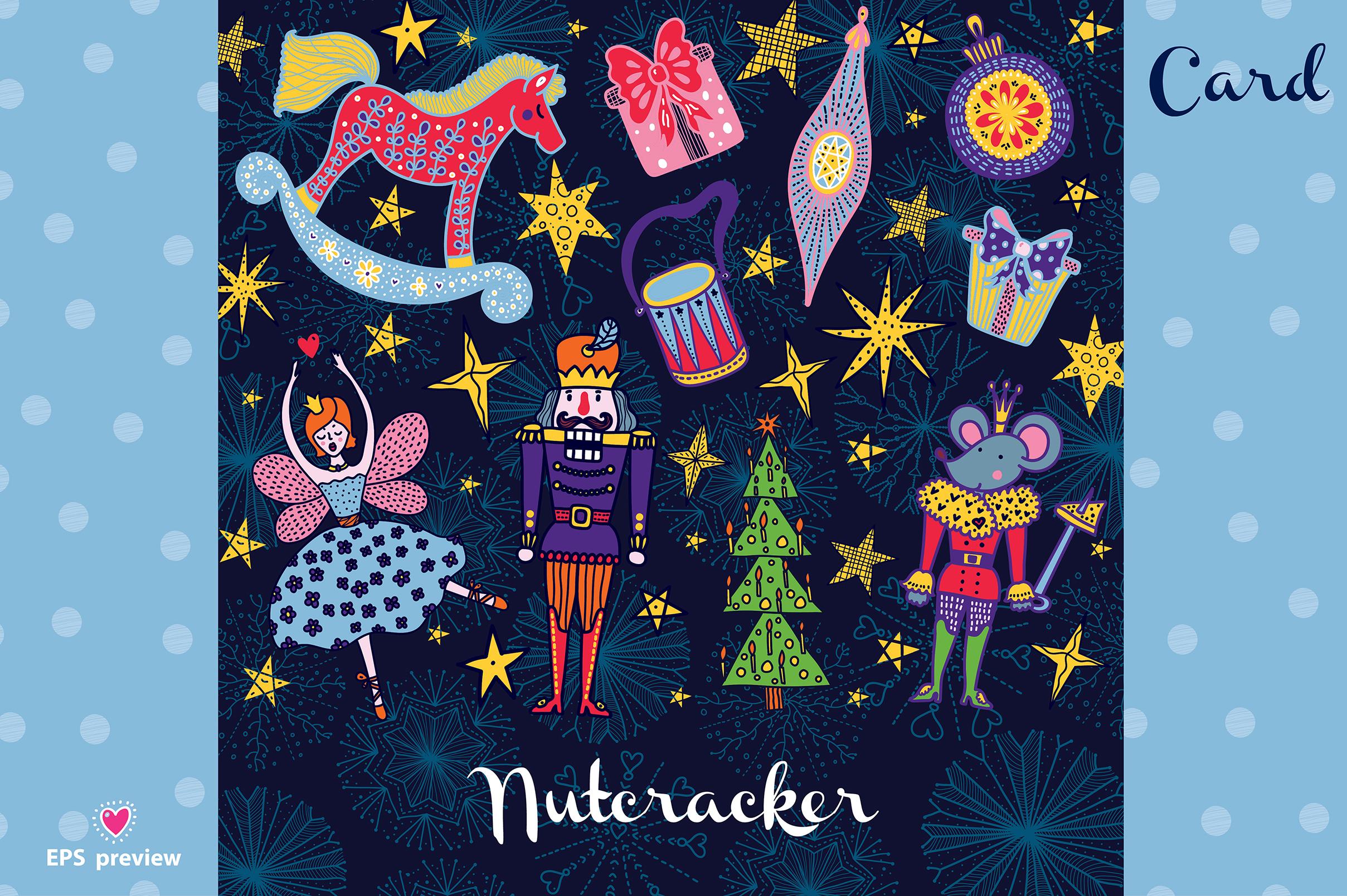 Nutcracker. Christmas story. example image 13