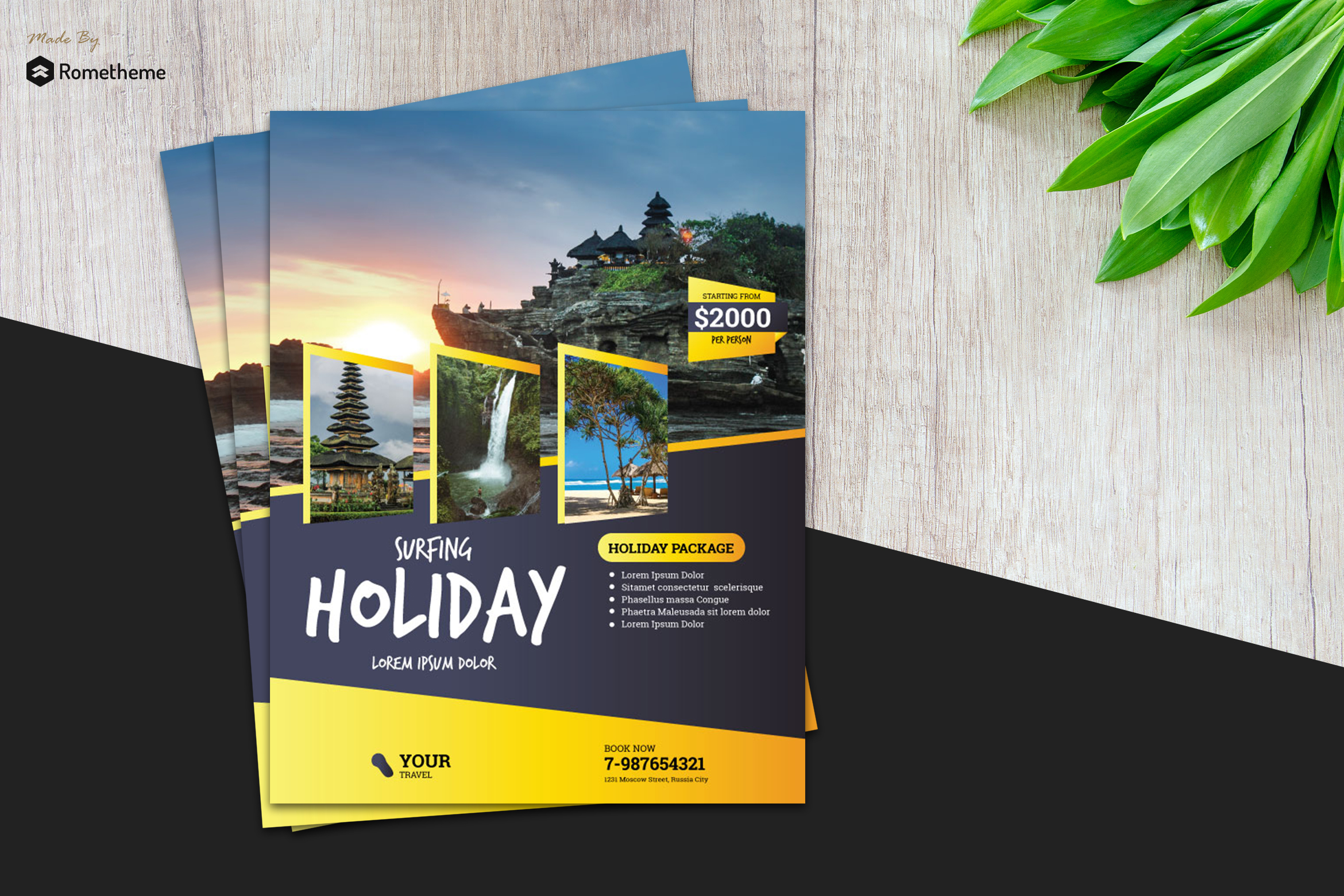 Holiday Travel Flyer vol. 02 example image 1