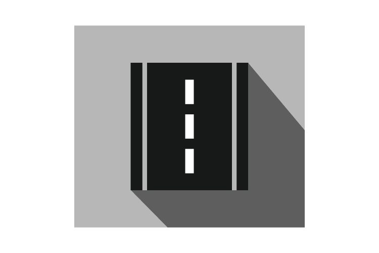 Road icon example image 1