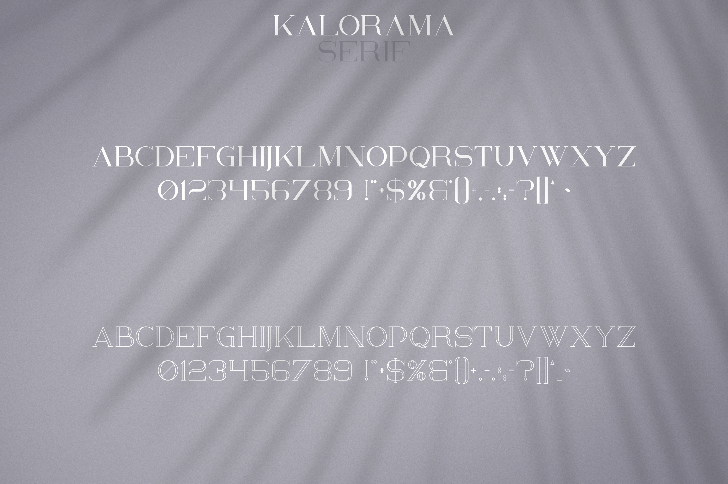 Kalorama - Font duo example image 8
