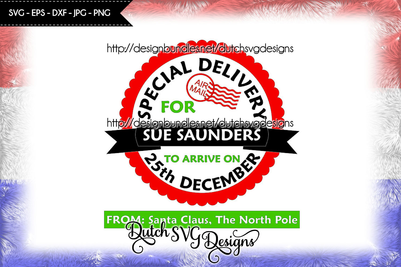 Santa Delivery cutting file, santa sack svg, christmas svg example image 2