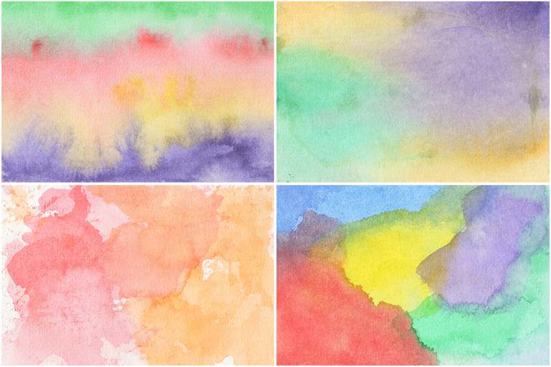 50 Watercolor Backgrounds example image 6