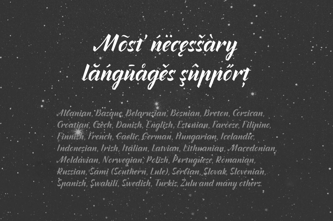 Inters—handwritten font example image 7
