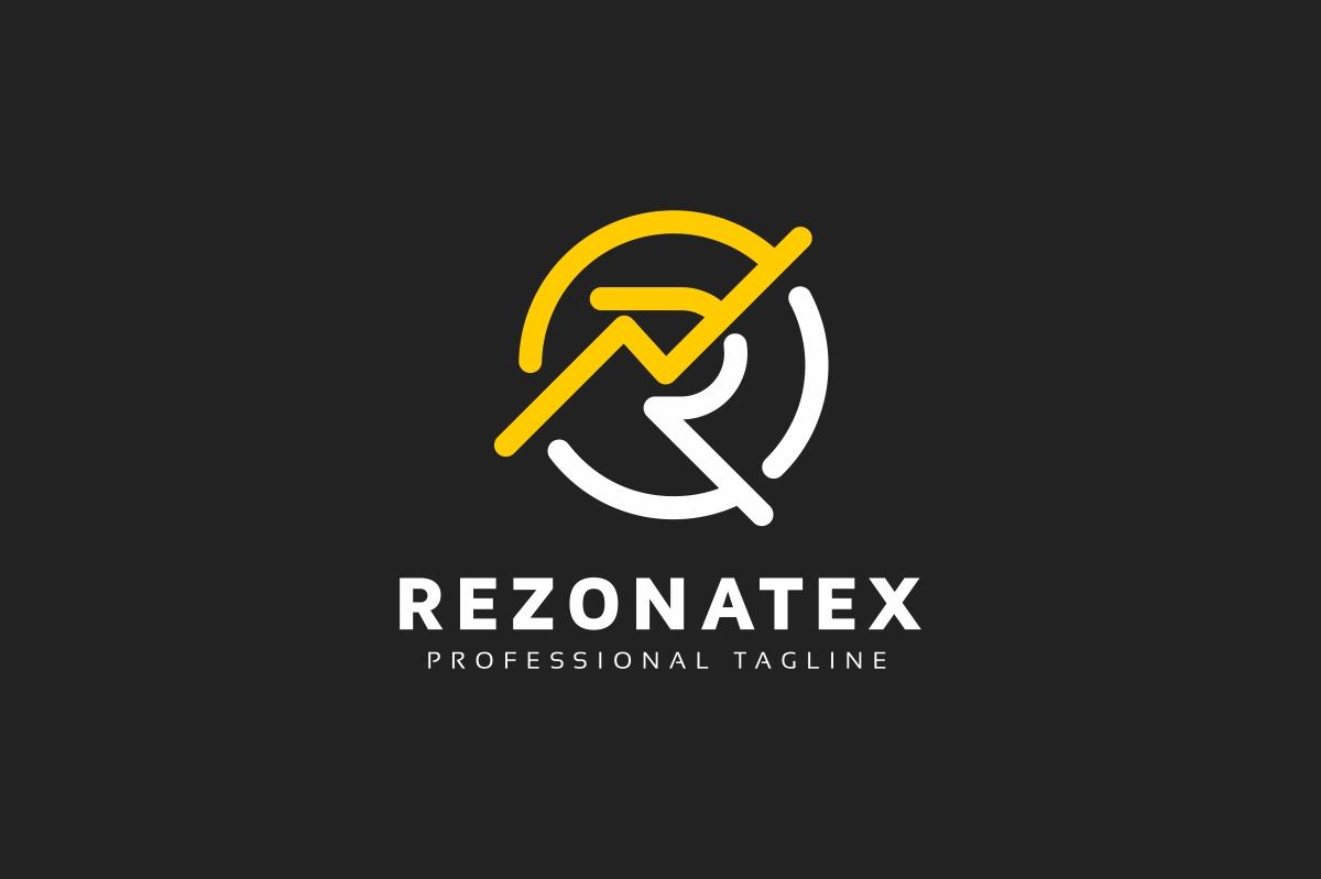 Rezonatex R Letter Logo example image 2