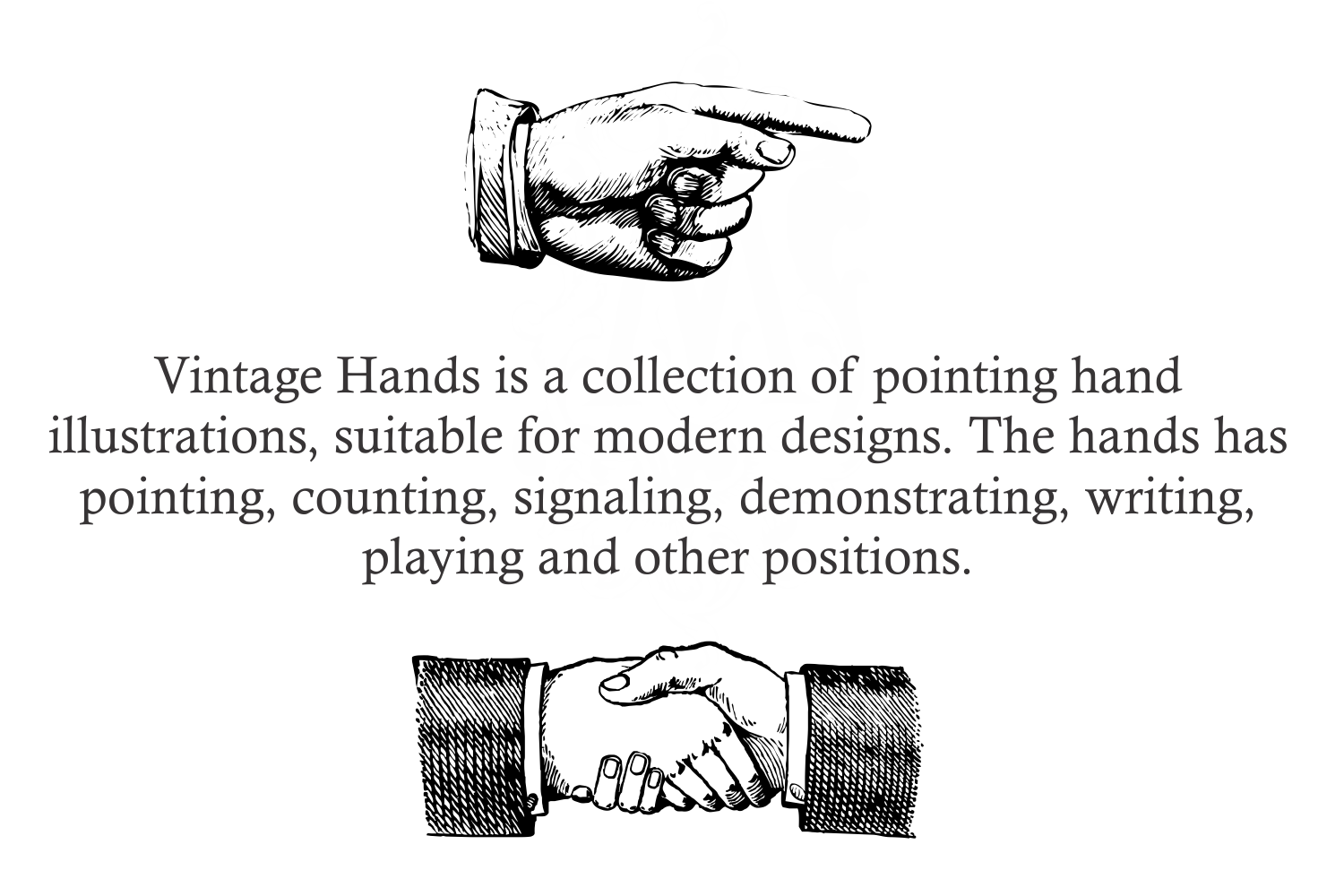 Vintage Hands Two example image 3