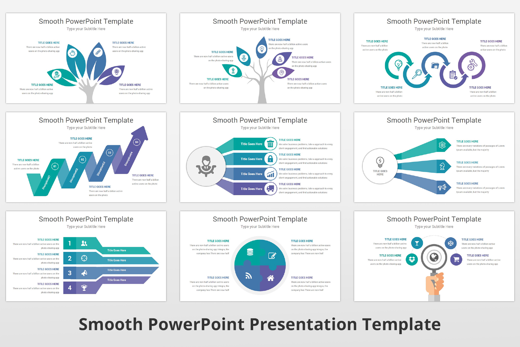Smooth multipurpose PowerPoint Presentation Template example image 15