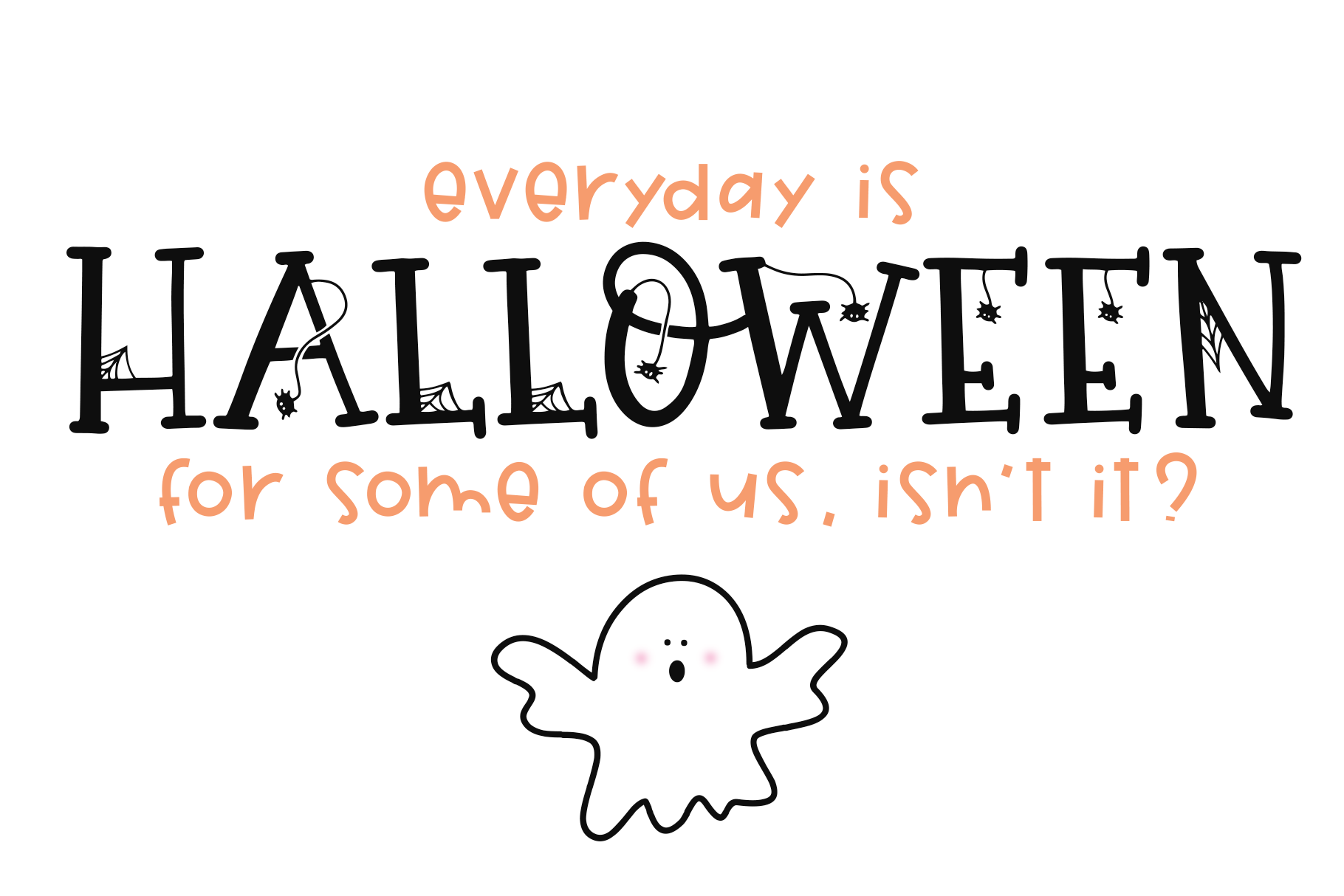 Hey Boo - A Quirky Halloween Font example image 9