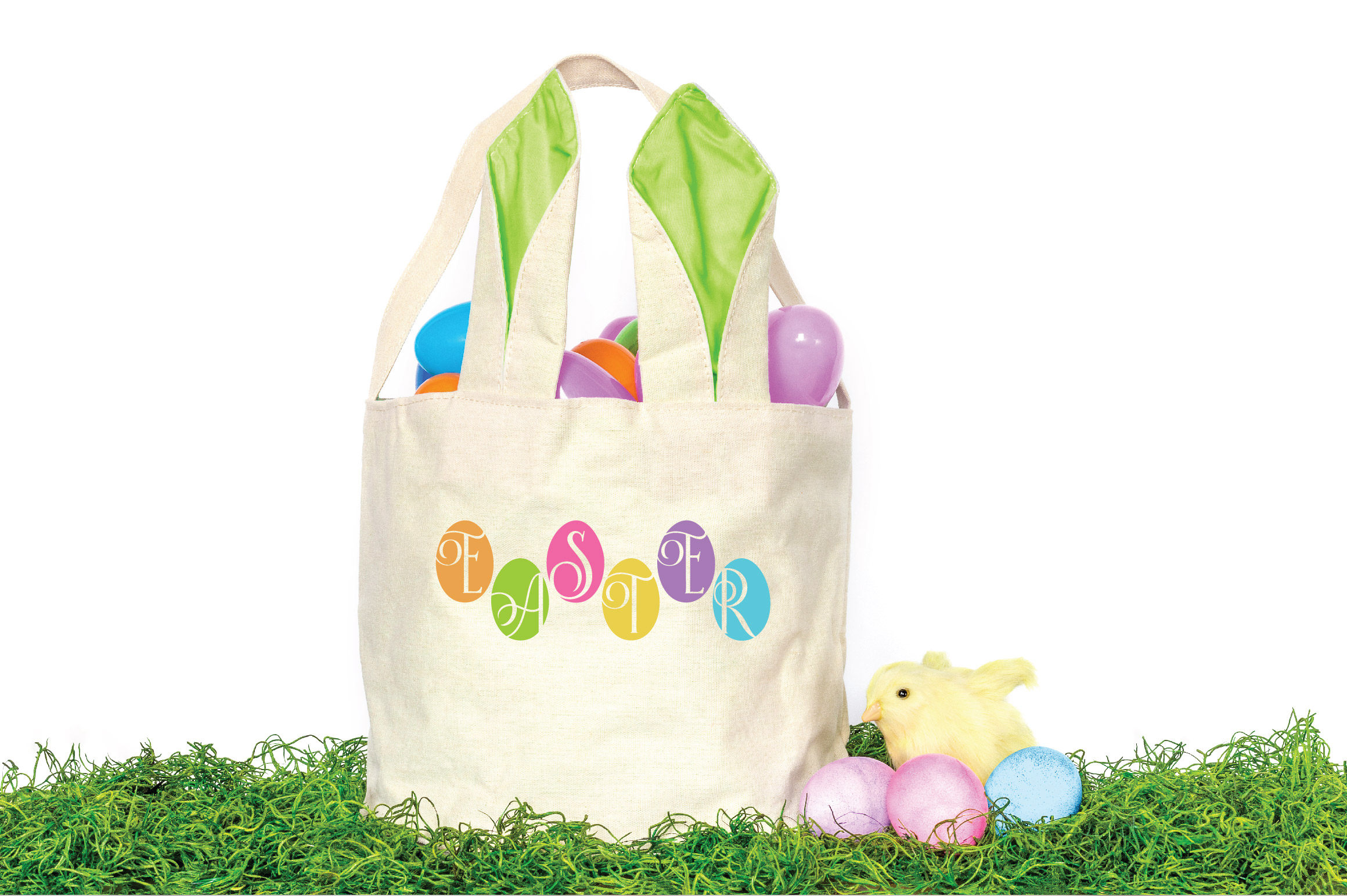 Easter SVG Cut File - Easter Eggs SVG DXF EPS PNG JPG AI example image 2