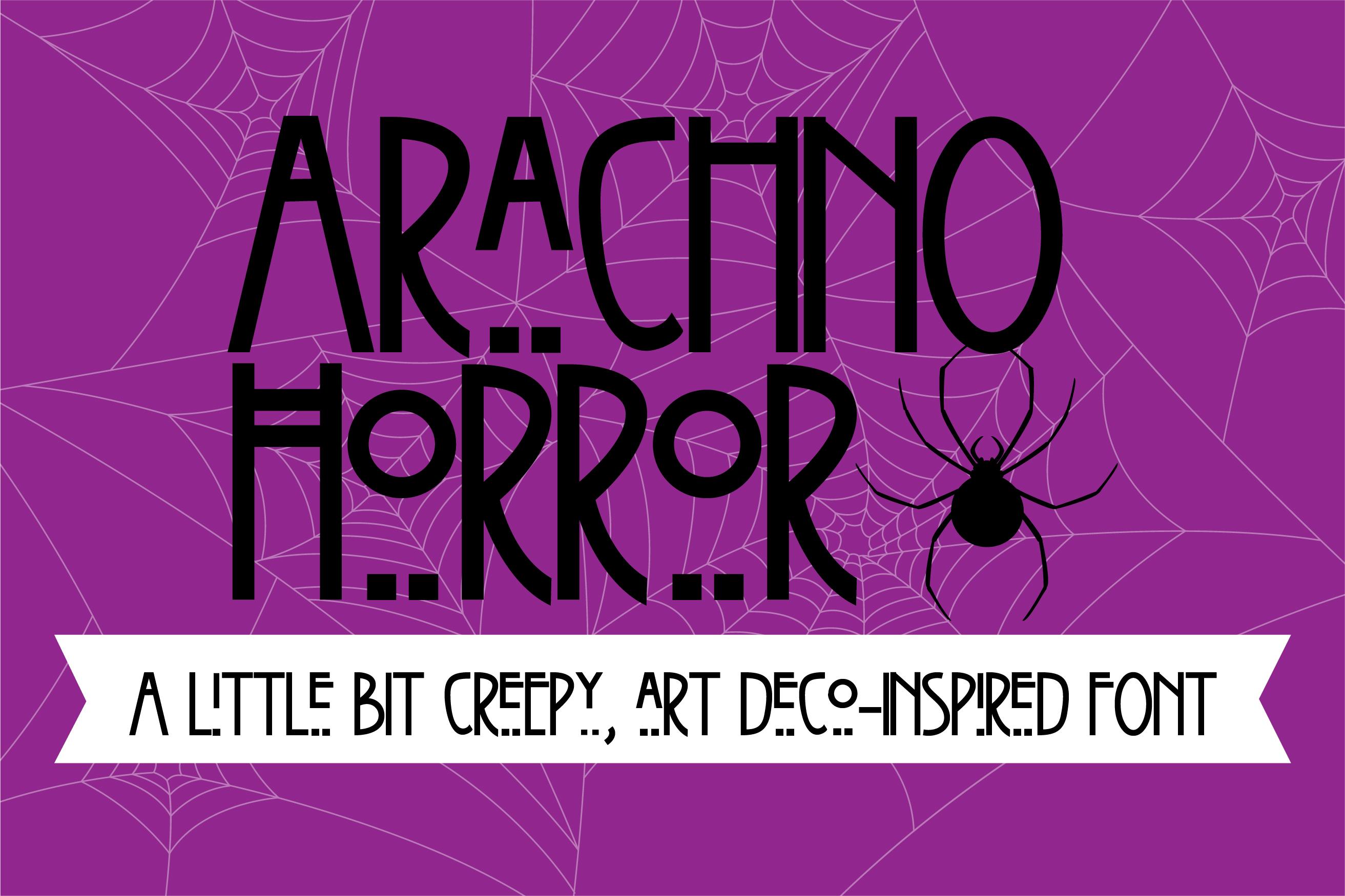 PN Arachno Horror example image 1