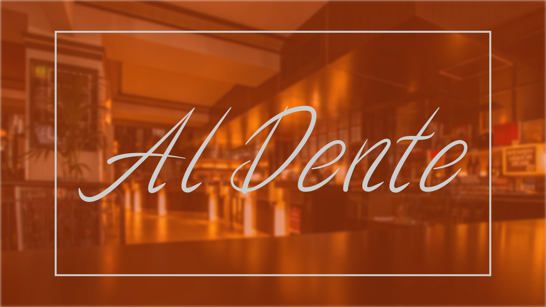 Al Dente Font example image 1