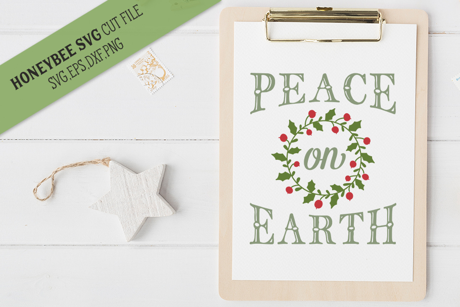 Peace On Earth svg example image 1