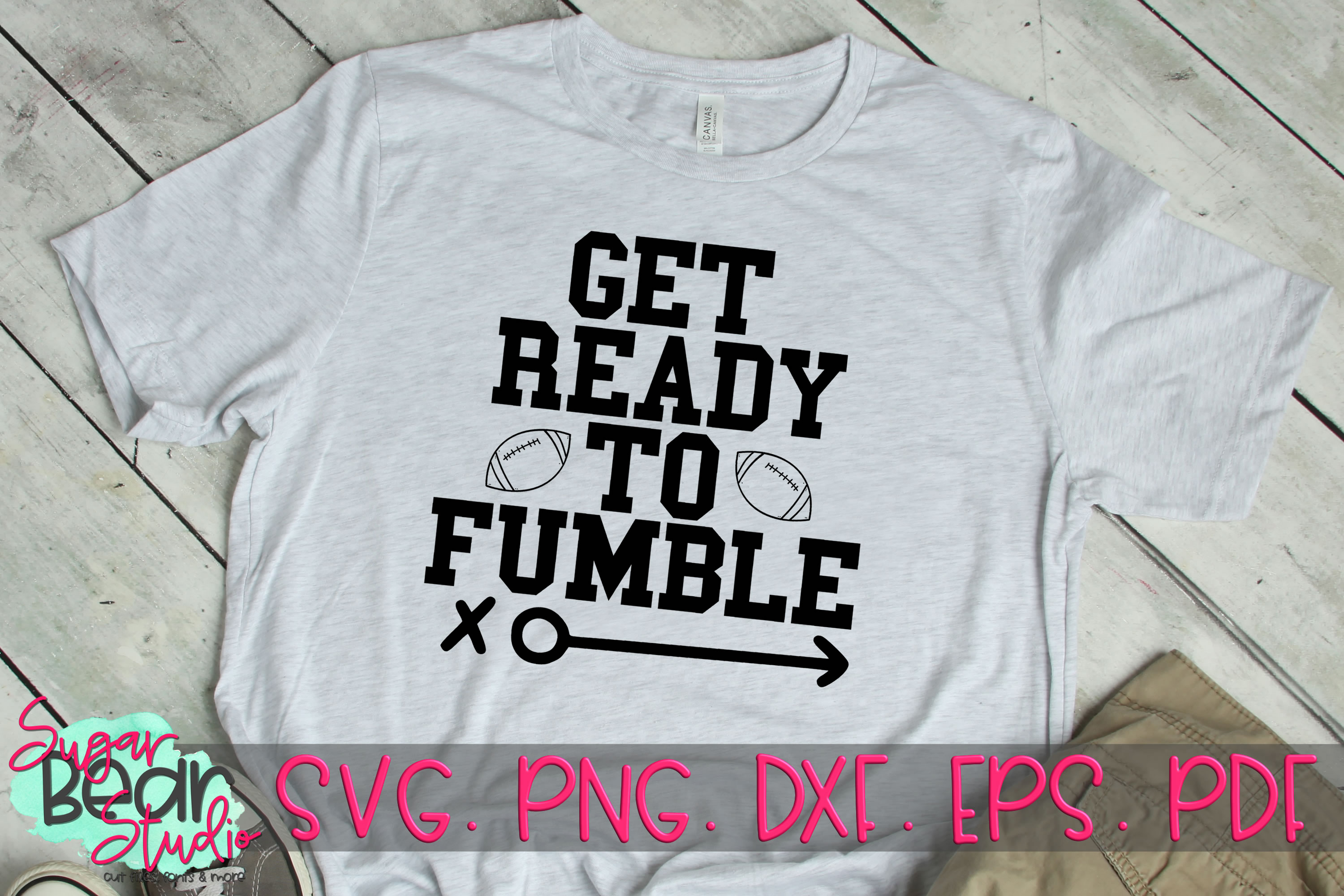 Get Ready To Fumble - A Football SVG example image 2
