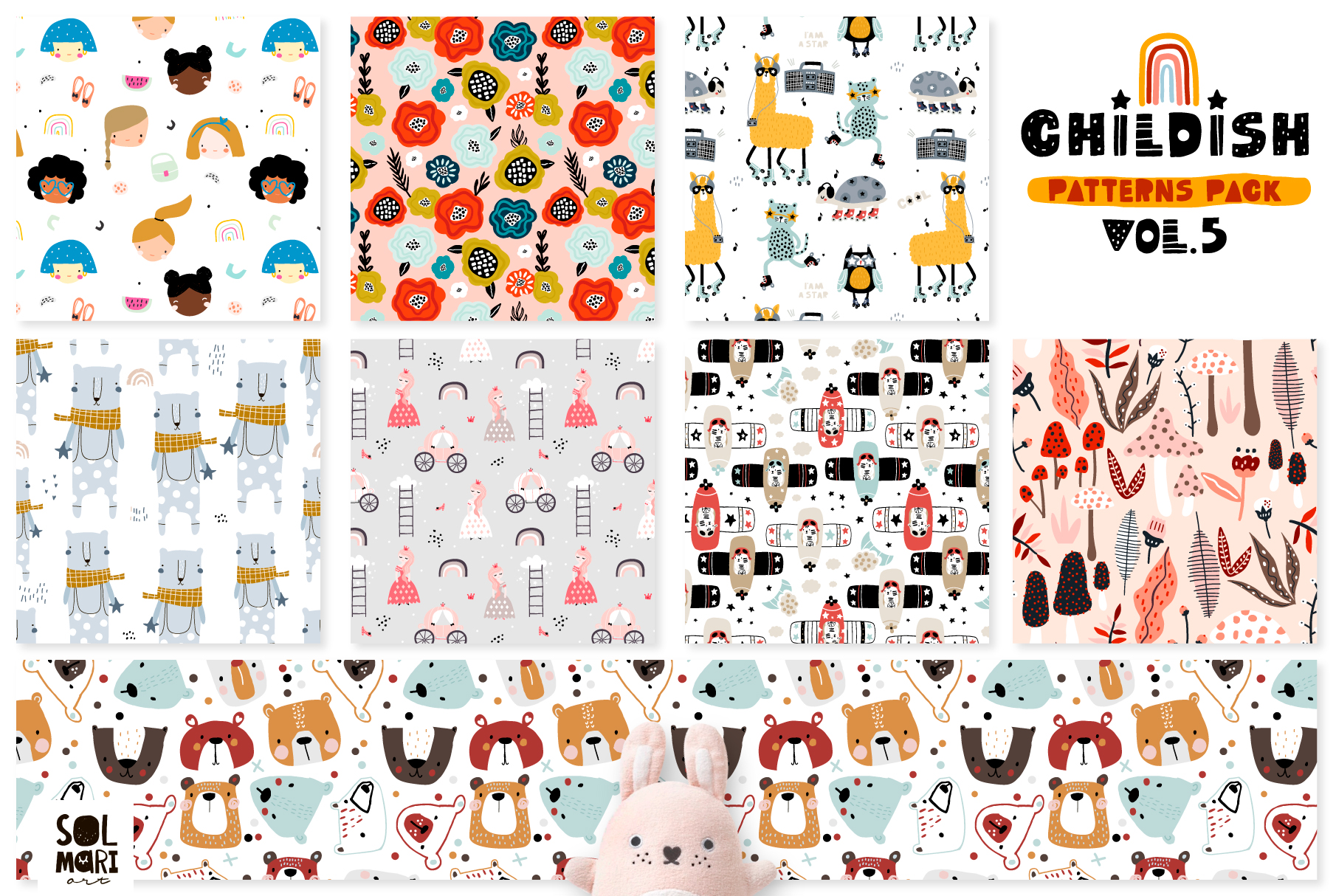 Childish patterns pack vol. 5 example image 7