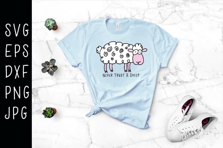 Sheep SVG example image 1