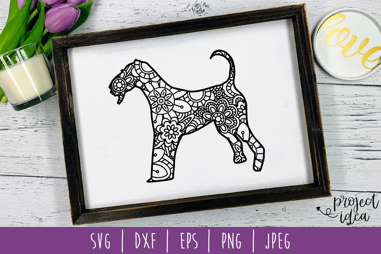 Dog Mandala Zentangle Bundle Set of 22 - SVG example image 22