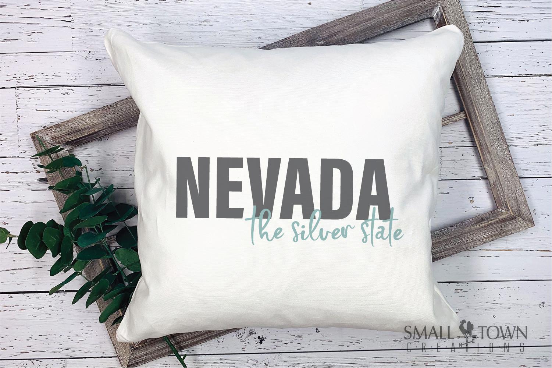 Nevada, The Silver State - slogan, Logo, PRINT, CUT & DESIGN example image 7