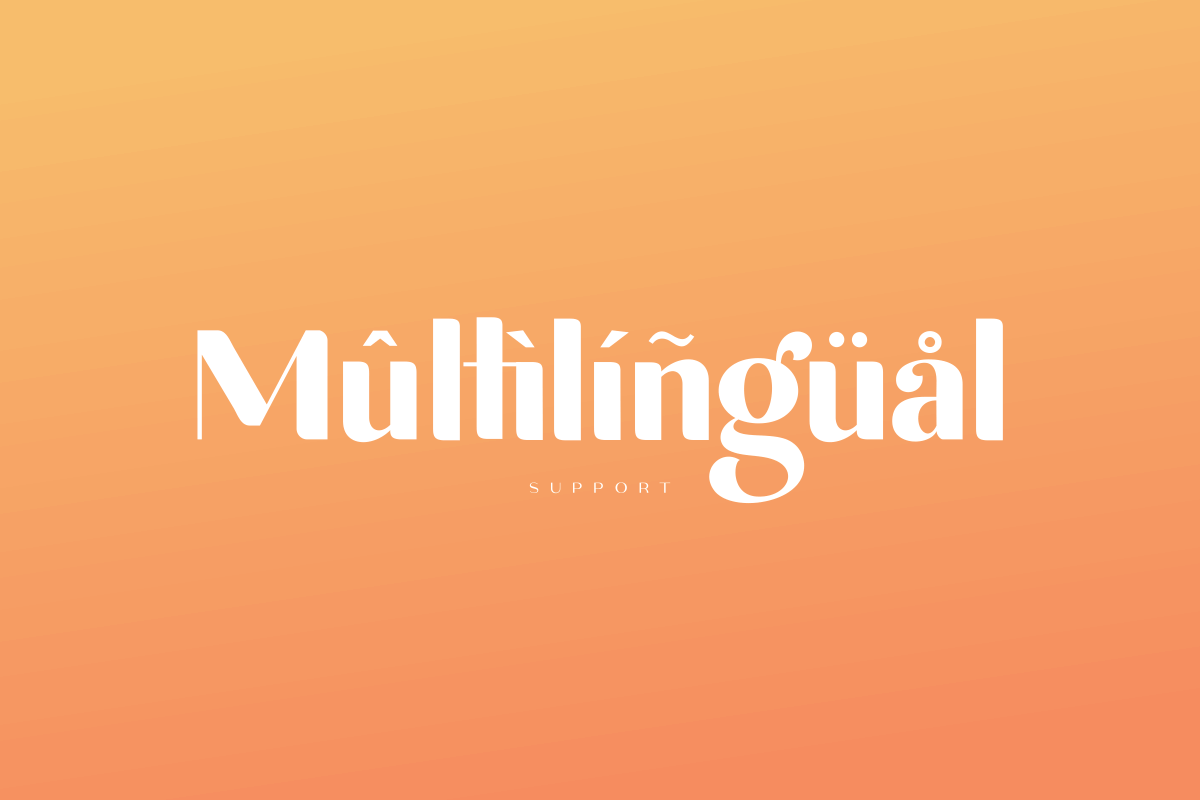 michael beautiful ligature font example image 15