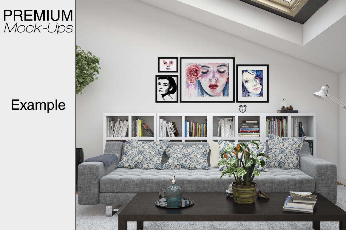Pillows & Frames Set example image 8