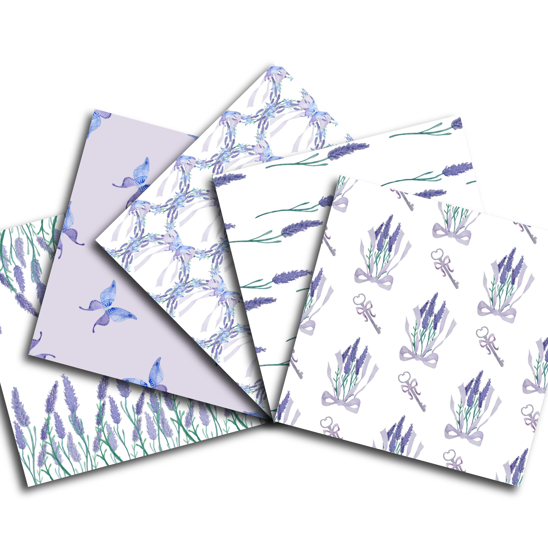 Lavender Digital Paper example image 2