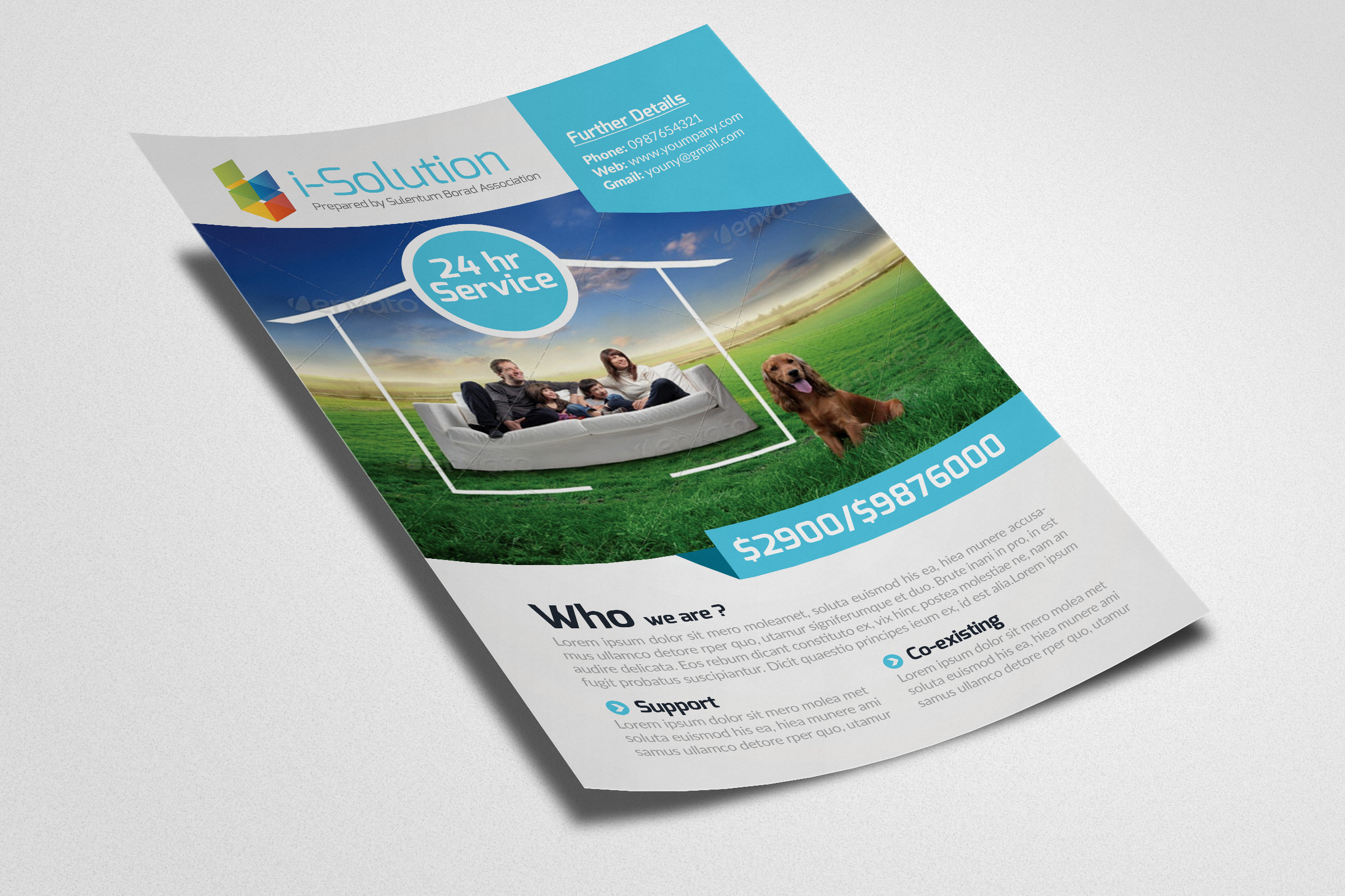 Life Insurance Business Flyer example image 3