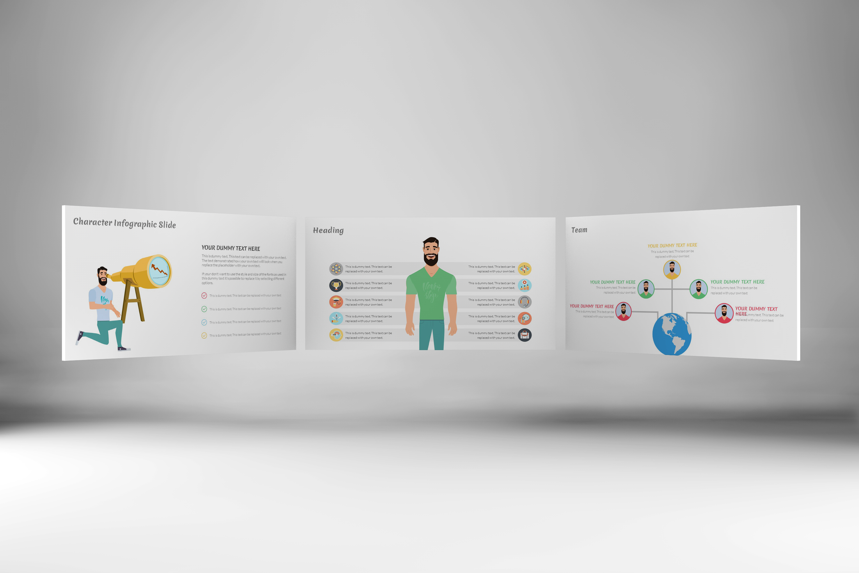 E-Trainer PowerPoint Template 1 example image 6