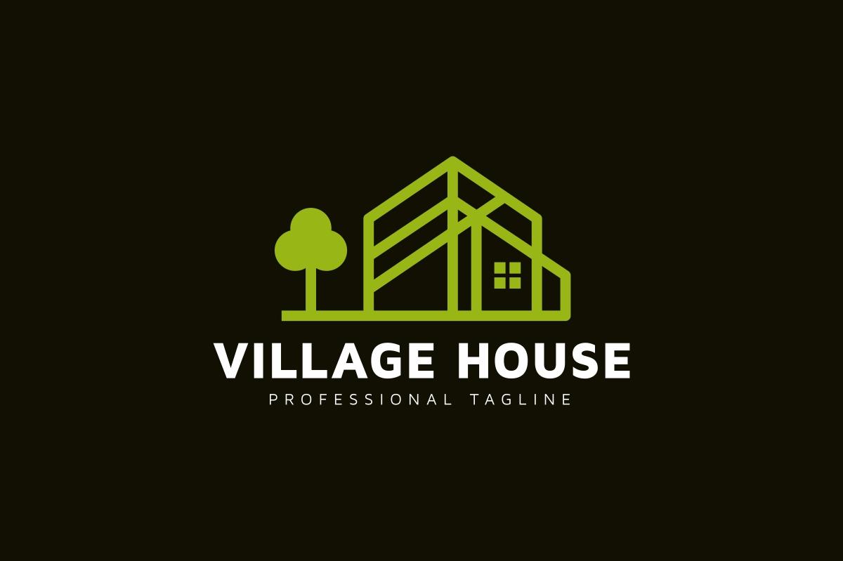 Village House Logo example image 2