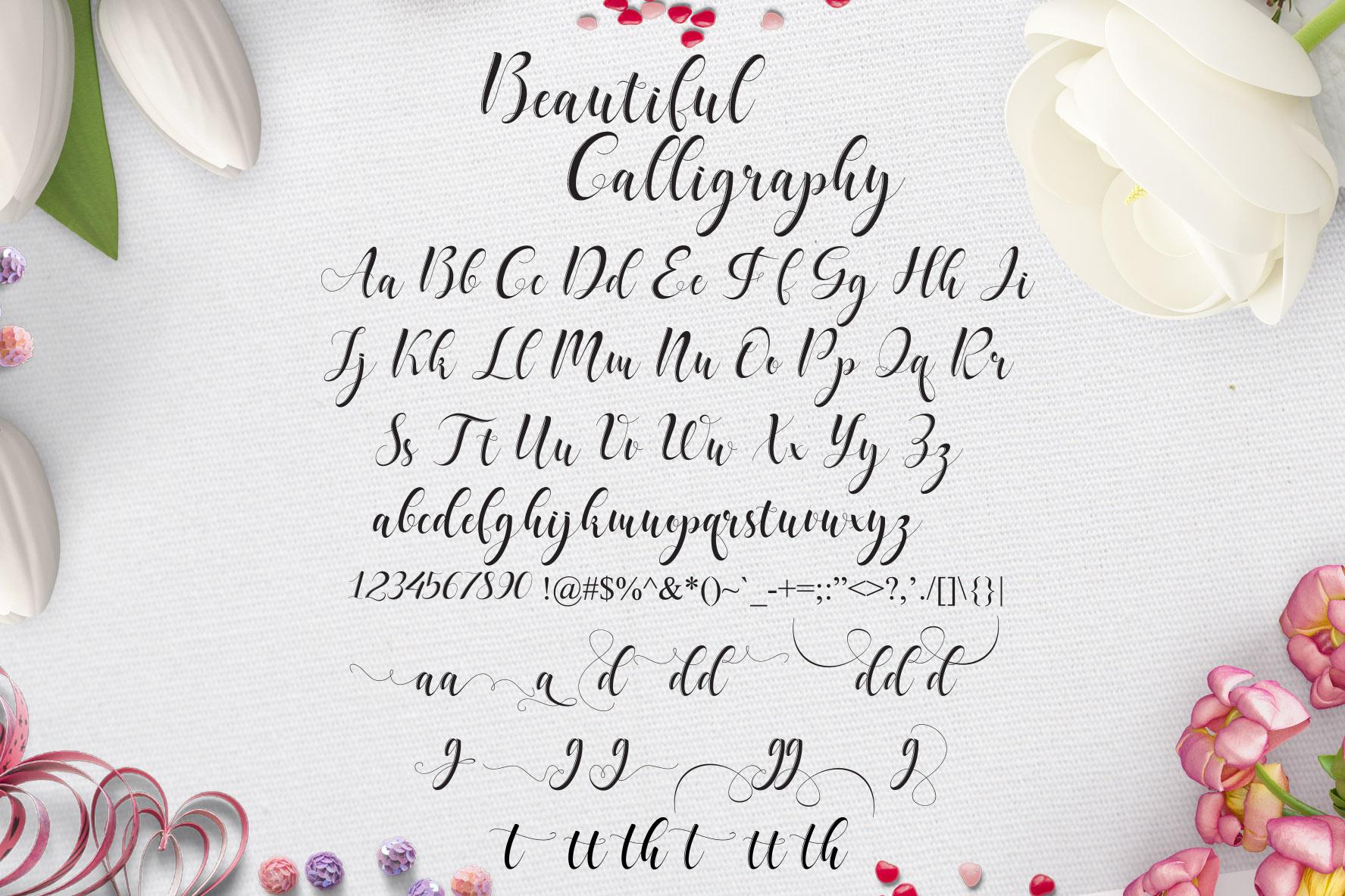 Delaney Script example image 10