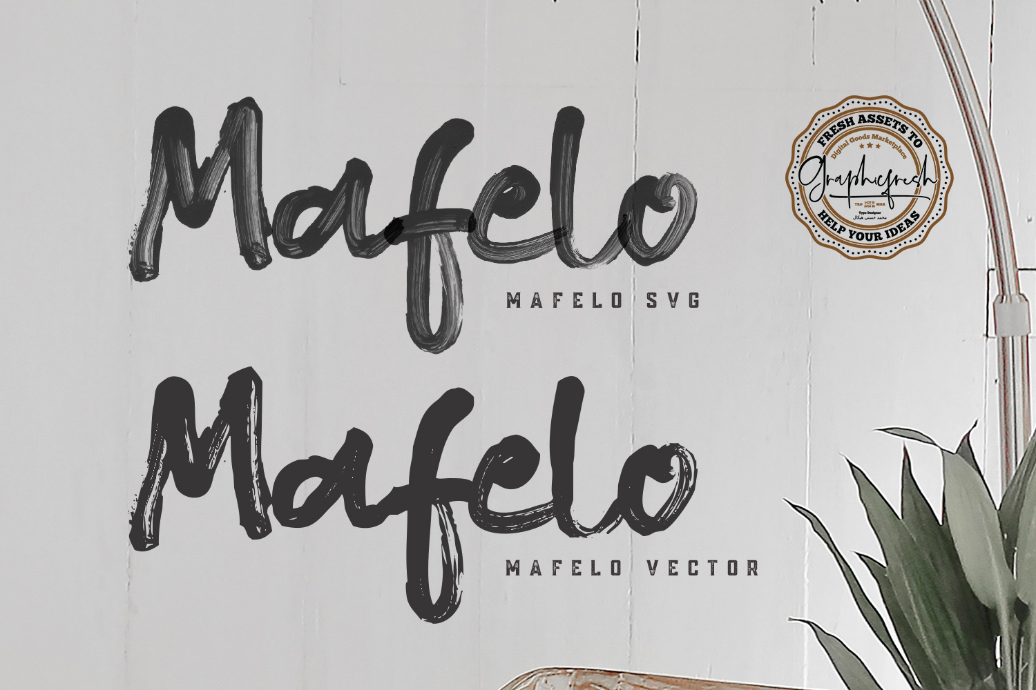 Mafelo SVG Font example image 7