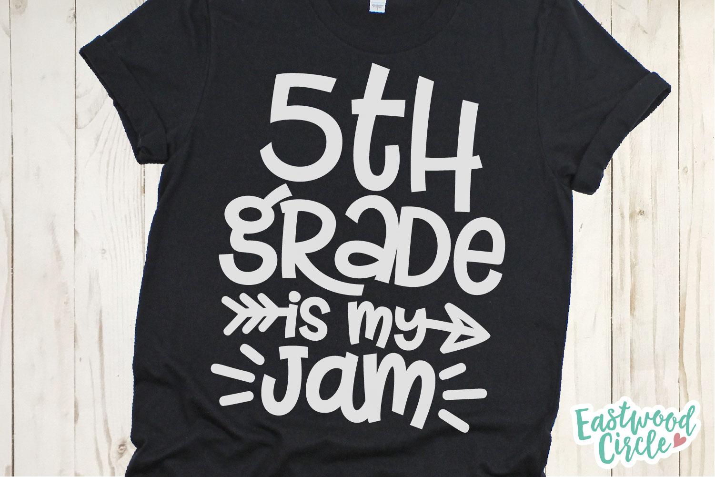 School Is My Jam SVG Bundle - Back to School Cut Files example image 9