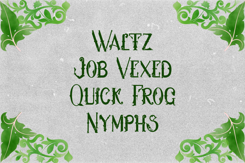 Hukiran Victorian Font example image 5