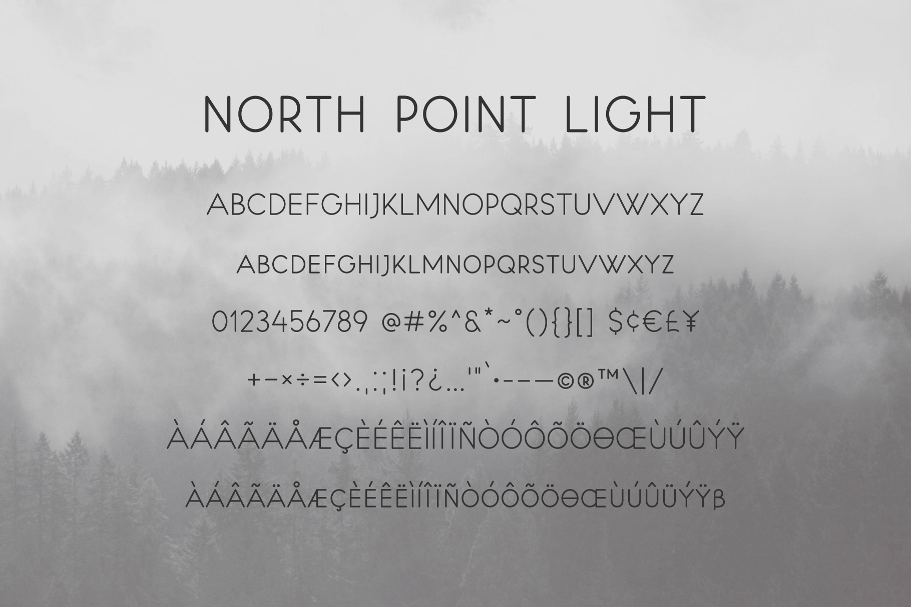 North Point | Sans Serif example image 8