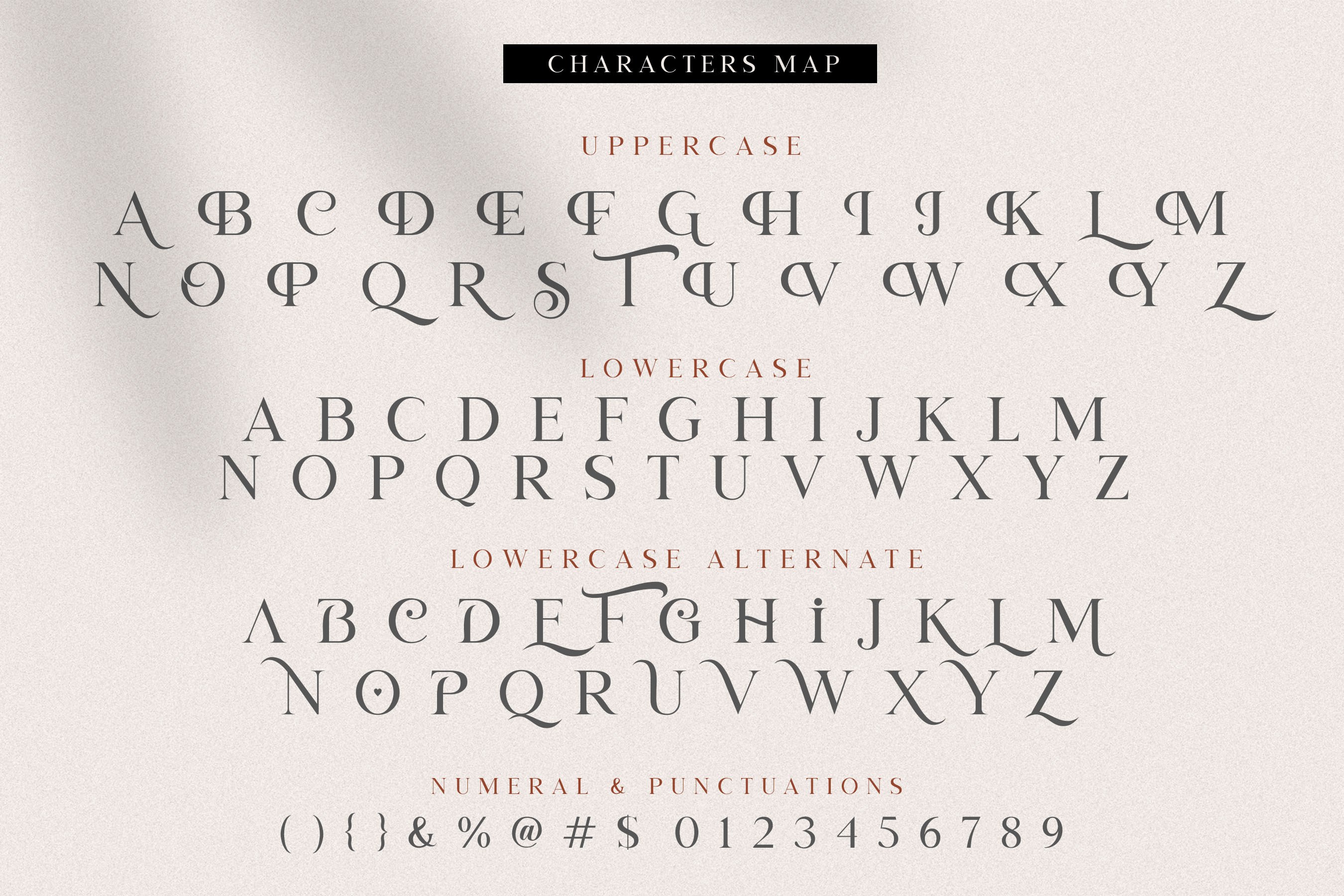 Letter Heart Font Duo example image 14